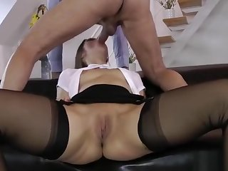 Teen fucked in ff stockings 1